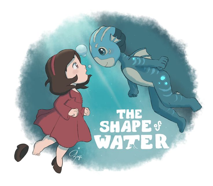 Ponyo / The Shape of Water