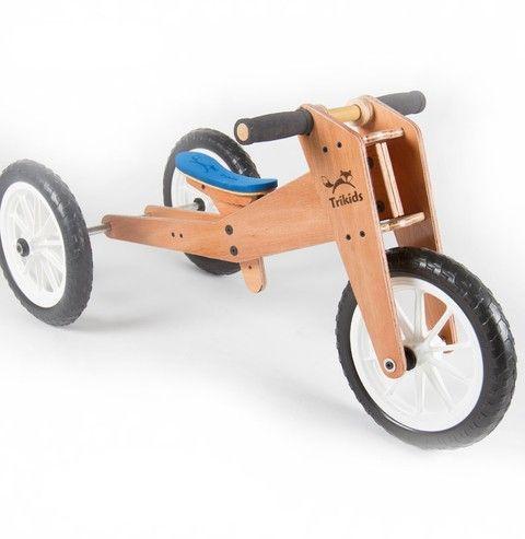TriKids wood trike