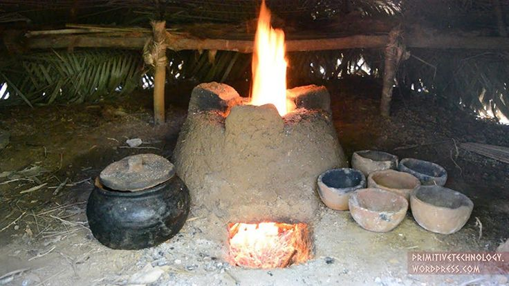 How to Make Pottery and a Stove Using Primitive Technology