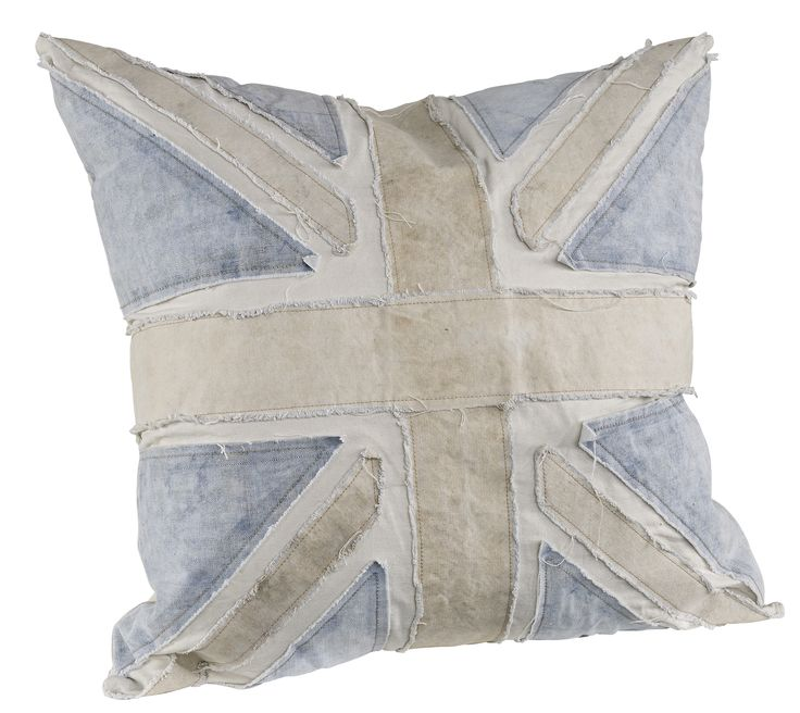 Blue Army Tent Square Cushion, also available in a rectangle