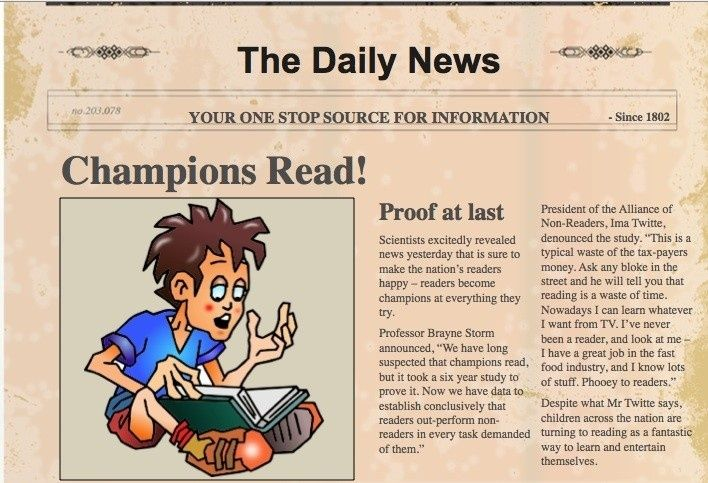 How To Write A Newspaper Article For Kids Templates Best Regarding Newspaper Article For Kids21863 Articles For Kids News Articles For Kids Newspaper Article
