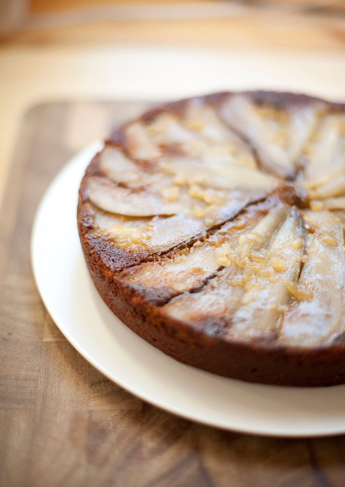 Our Pear Ginger Upside Down Cake is the perfect holiday dessert. So whether you've been naughty or nice this year, here's to warming up with a little sugar and spice.