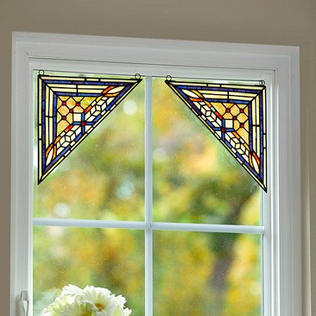 417 Best Stained Glass Coins Corners And Valances Images