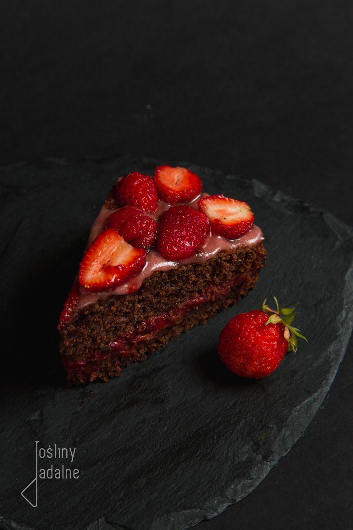 rośliny jadalne: Tort truskawkowo-liliowcowy II