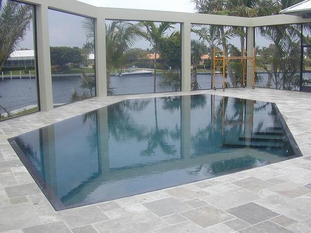 Best Tile The Pool Images On Pinterest Pool Ideas Swimming - Black pearl pebble tec pool bottom
