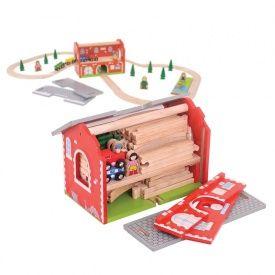 Railway Carry Train Set