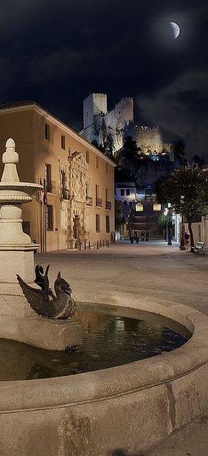 Almansa Castle, Almansa, Albacete, Spain