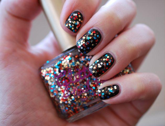 Glitter nagellak!!!
