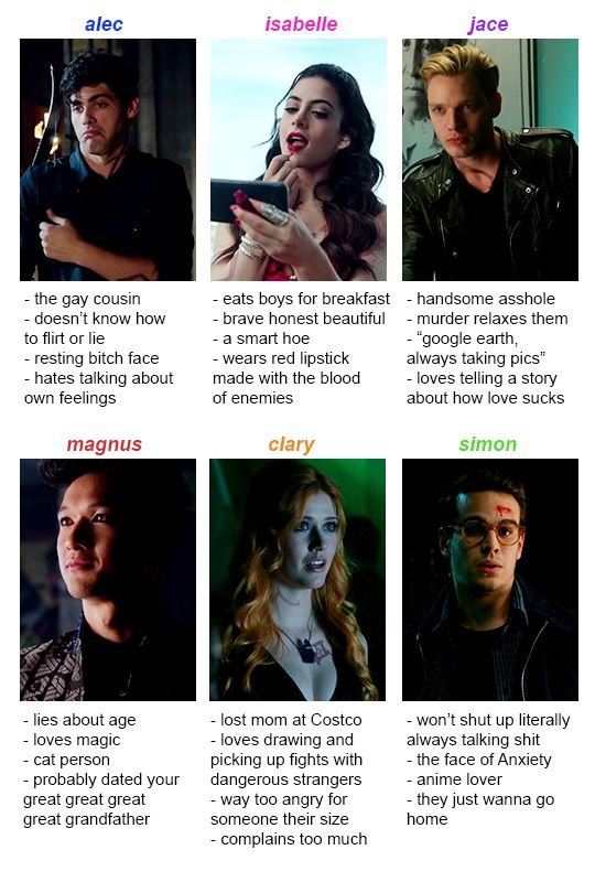 Further confirmation that I am indeed Isabelle Lightwood