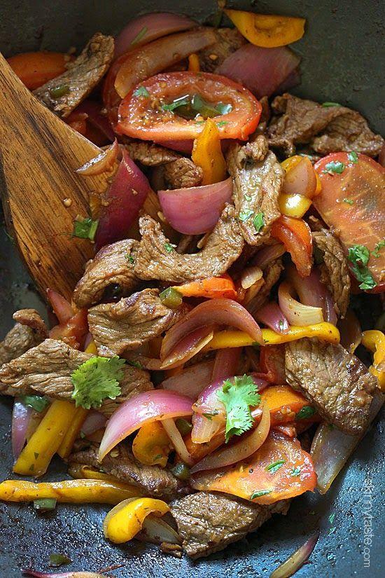 Lomo Saltado (Peruvian Beef Stir Fry) - Paleo friendly!