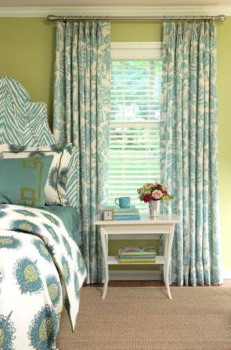 Window Treatments, Custom Window Treatments ...: Wall Colors, Colors Combos, Custom Window Treatments, Curtains, Floors, Guest Bedrooms, Colors Schemes, Guest Rooms, Calico Corner