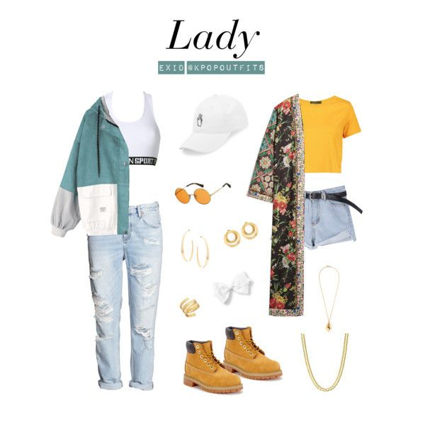 """Outfits inspired by """"Lady (내일해)"""" by EXID """" All items can be found"""
