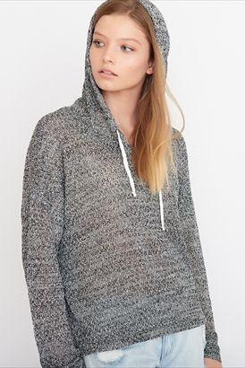 Hooded Slouchy Sweater - so, so, so comfy. Going to be great for lounging around on a cold day!