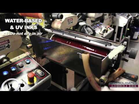 Flexographic printing for custom labels: Technical Process