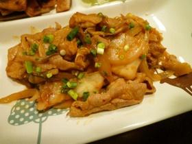 コチュジャンマヨでアレンジ豚キムチ☆ 大豆ミートかセイタンで作ろう。
