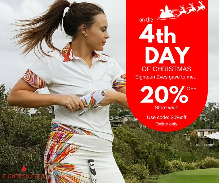 🎁 On the 4th Day of XMAS, Eighteen Eves gave to me... 20% OFF STORE WIDE 🎅 Use code: 20%off at the checkout  Full T&C's on our FB Event page