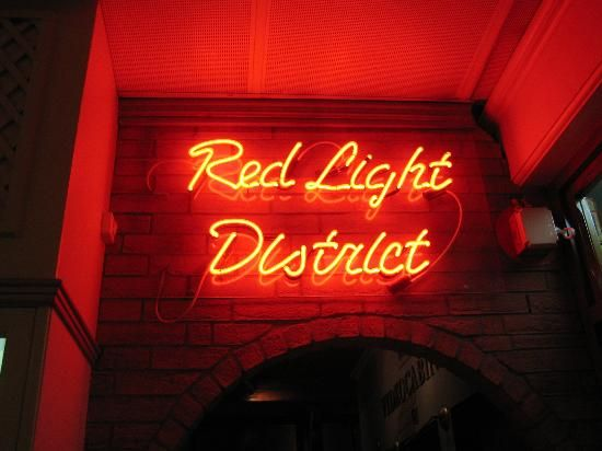 The Red Light District 'set' - Picture of Sexmuseum Amsterdam ...