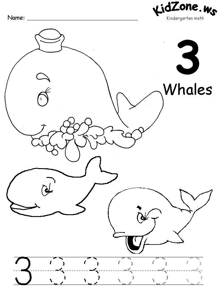 73 best images about Free number printables for preschoolK on – Number 3 Worksheet