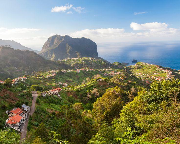 Madère, c'est une terre de Cocagne dans l'Atlantique : fleurs tropicales et arbres fruitiers y prospèrent. Sans compter sa vigne, qui lui a donné son vin cél...