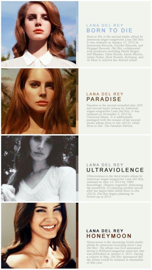 Lana Del Rey LDR Discography