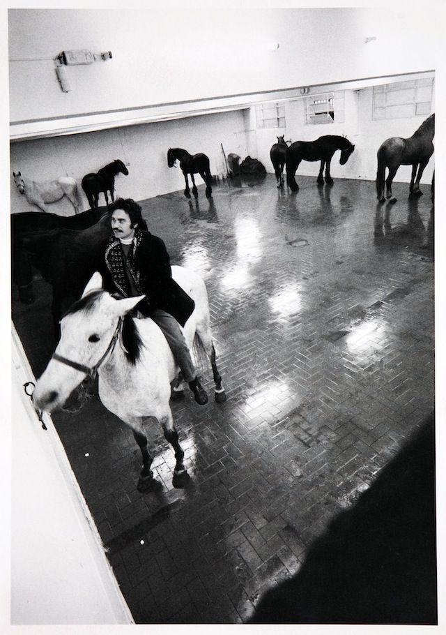 Jannis Kounellis, Galleria l'Attico, Roma, 1969