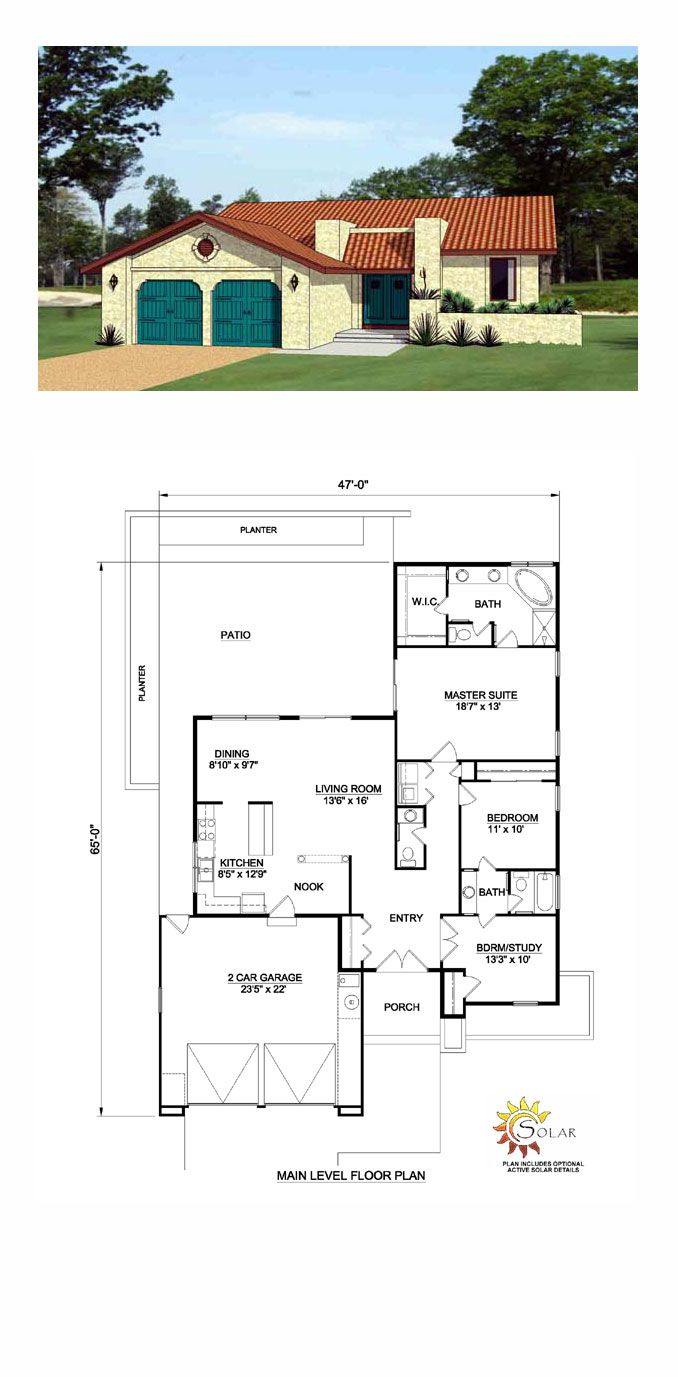 17 best images about southwest house plans on pinterest for Southwest home floor plans