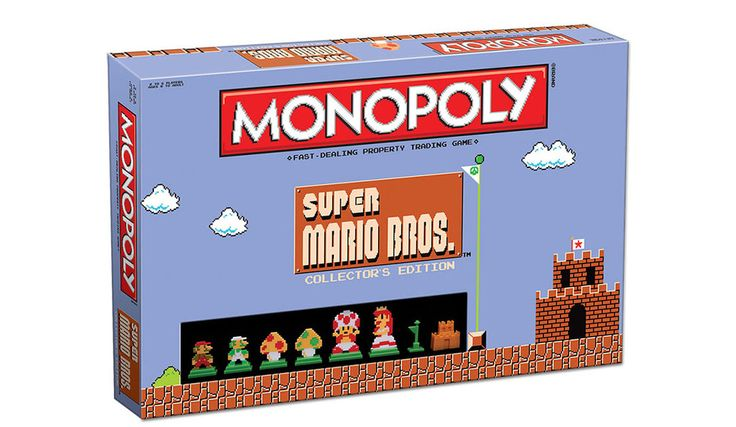 Cool, collectable and fun, everything that you want in a board game really! Mario Bros Monopoly is a board game to satisfy lovers of monopoly and games.