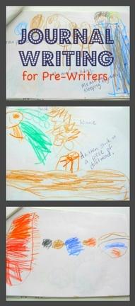 preschool journal writing
