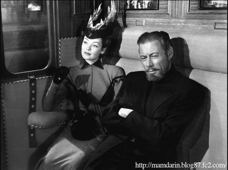 レックス・ハリソン/ジーン・ティアニー Rex Harrison/Gene Tierney