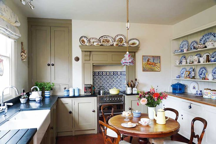 Definitely hits the mark for a classic British kitchen