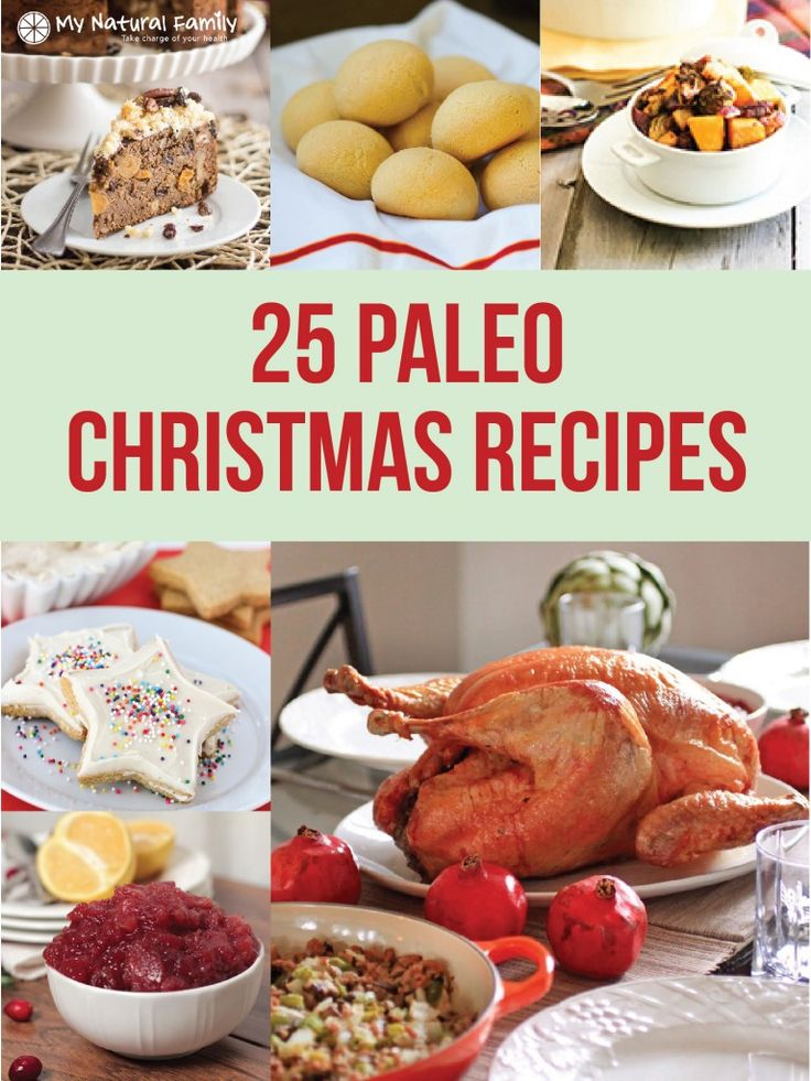 25 of the Top Paleo Christmas Recipes