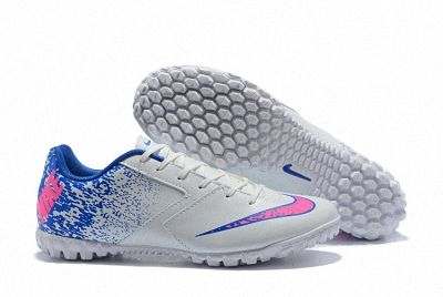 Shop Nike Hypervenom PHADE II TF Word Cup Mens Soccer Shoes White Pink  Royal Blue 29ee59622