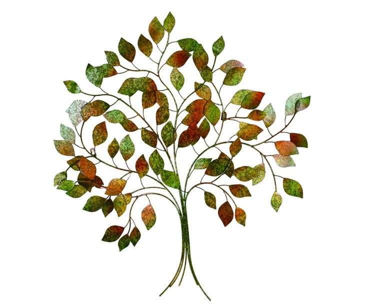 A beautiful Autumn Tree of life in metallic painted red, orange, green, yellow leaves. It's a stunning piece that will turn a boring space into an eye catching filled space.Measures 89cm high x 85cm (w)  x 2 cm (d)  and easily hangs on any hook, nail or screw.Makes a wonderful addition to your outdoor or indoor space or as a gift.