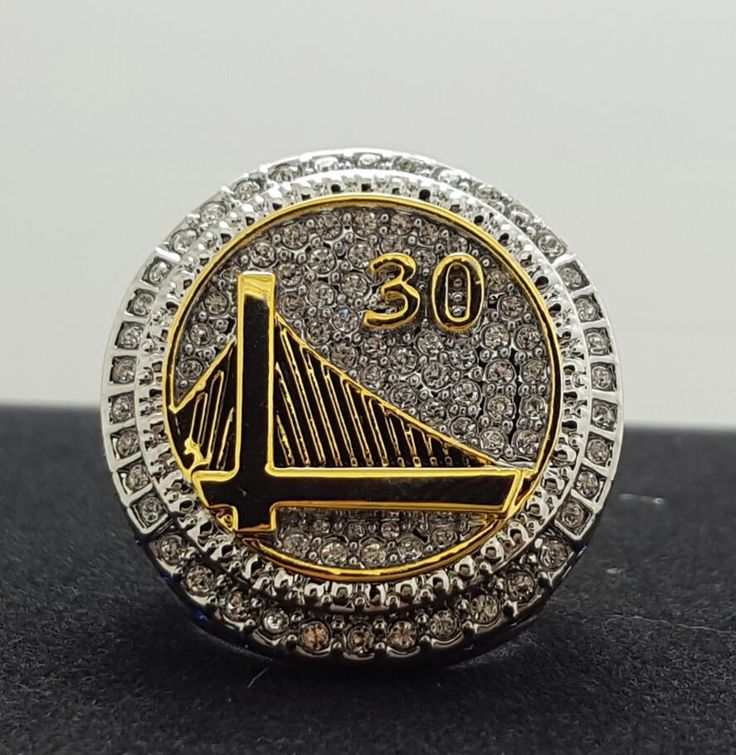 From 2014 to 2015, the golden state warriors basketball championship ring size 10-11 high quality Christmas gifts