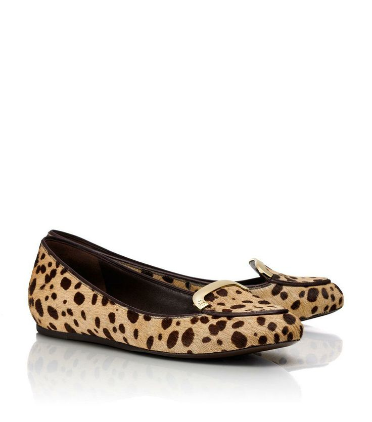 Calf hair flats from Tory Burch