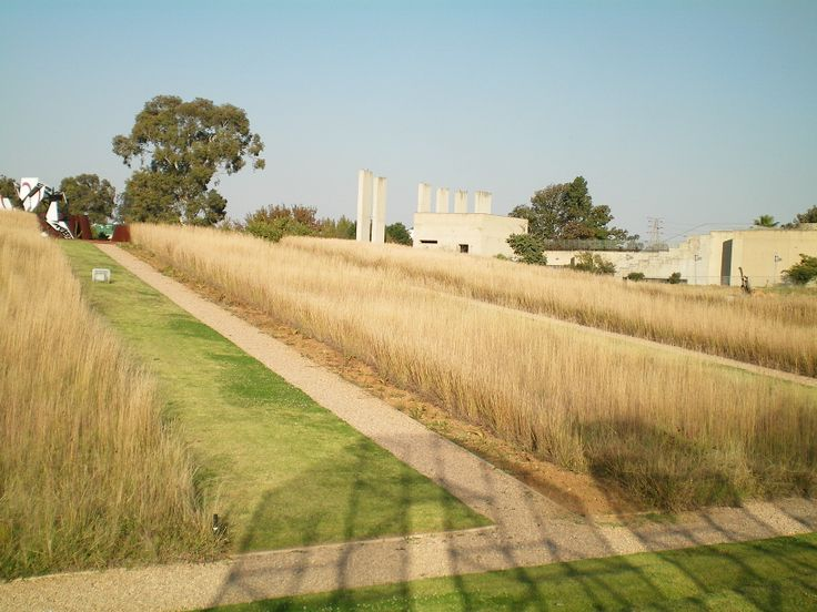 Apartheid Museum grounds: Johannesburg