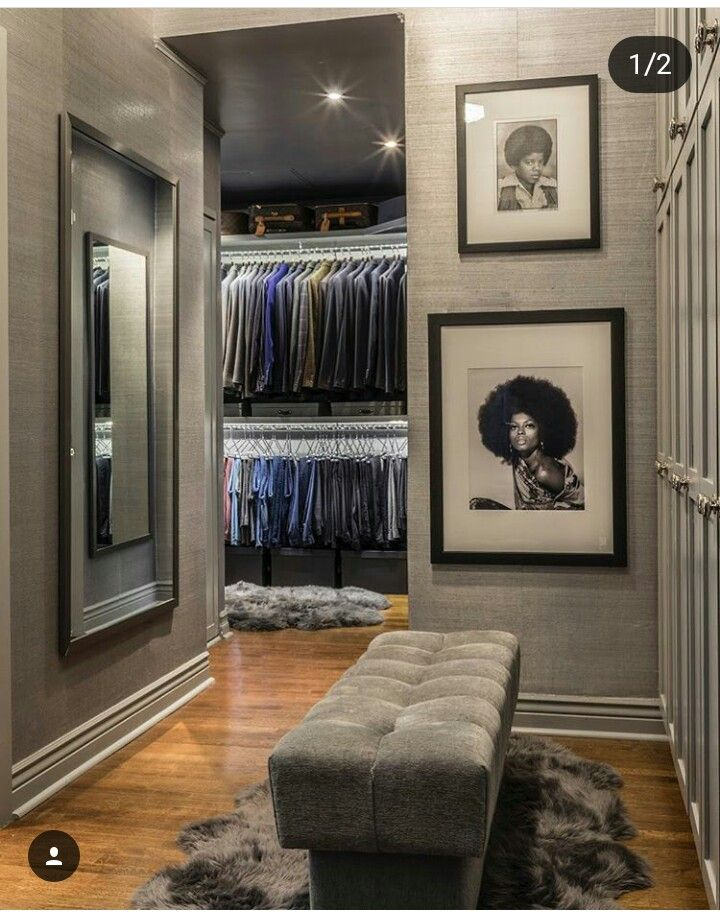 Diana and Michael  Walk in closets