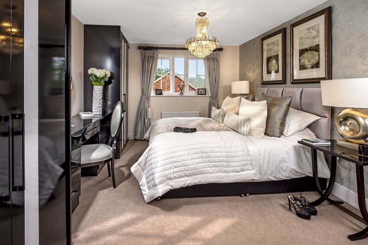 Master bedroom at Southwater show home   HomeSmiths Interior Design    HomeSmiths show homes   Pinterest   Master bedrooms  Home and Interior  design. Master bedroom at Southwater show home   HomeSmiths Interior
