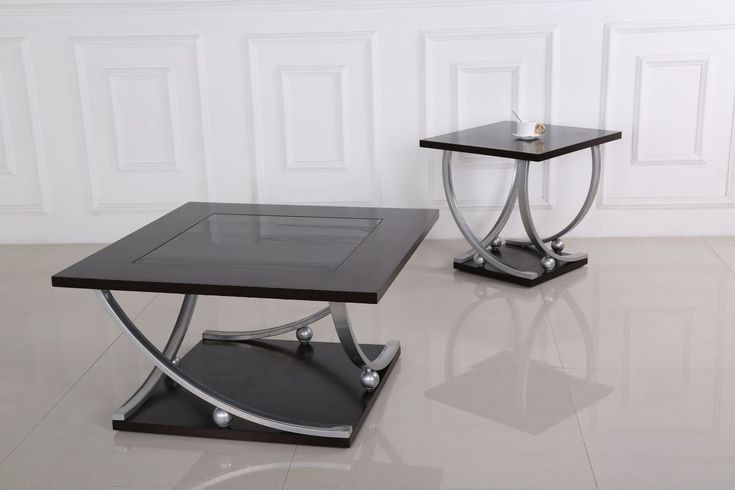 Best Generation Trade 3 Pc Chelsea Black Coffee End Table Set 400 x 300