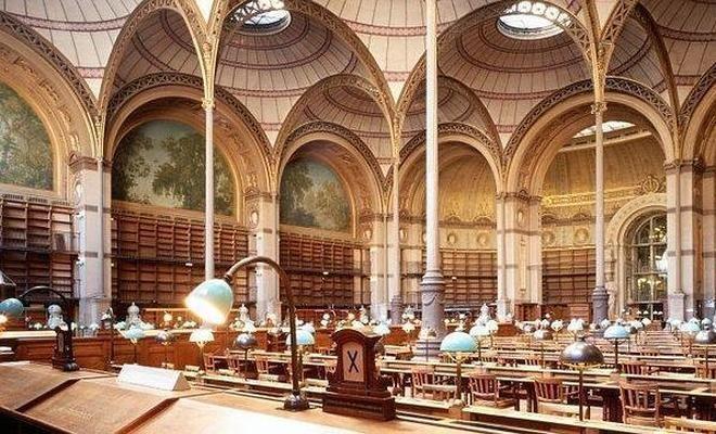 Las bibliotecas más impresionantes del mundo . El Correo