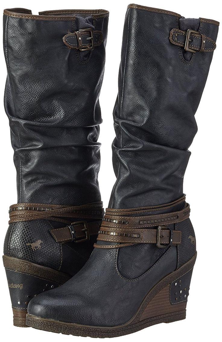 Mustang Damen 1083-509 Langschaft Stiefel: Mustang: Amazon.de: Schuhe & Handtaschen