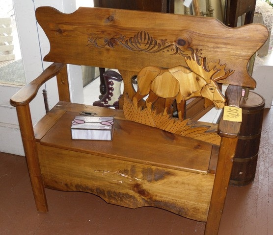 1000 Ideas About Deacons Bench On Pinterest: Hand Crafted Deacon's Bench In Rustic Pine By Vintage