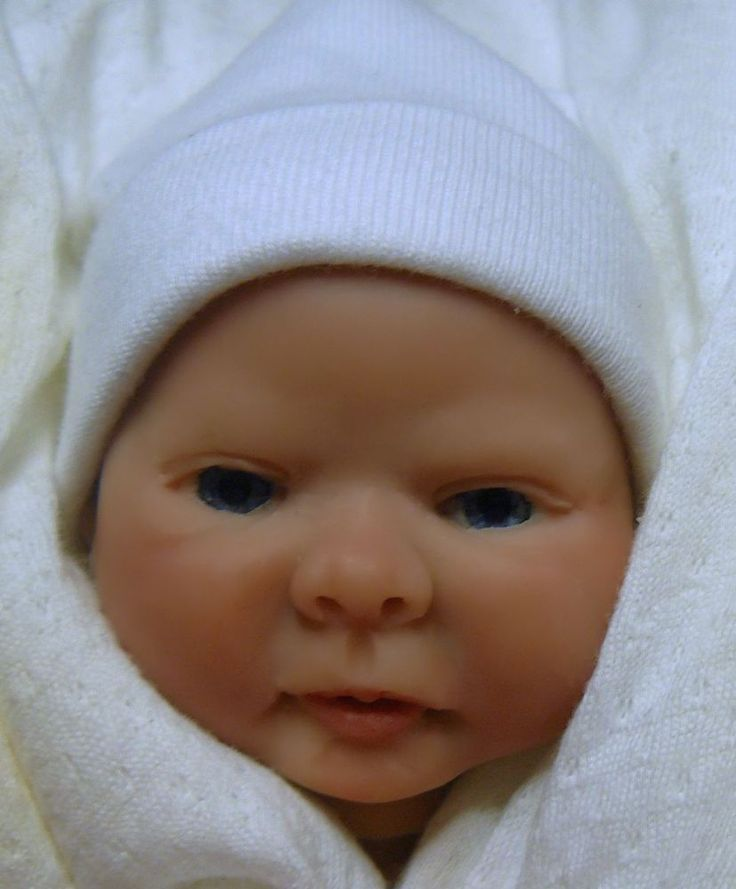 OOAK Original Artist Sculpt Polymer Clay Art Doll 8 inch - Baby Savannah   eBay