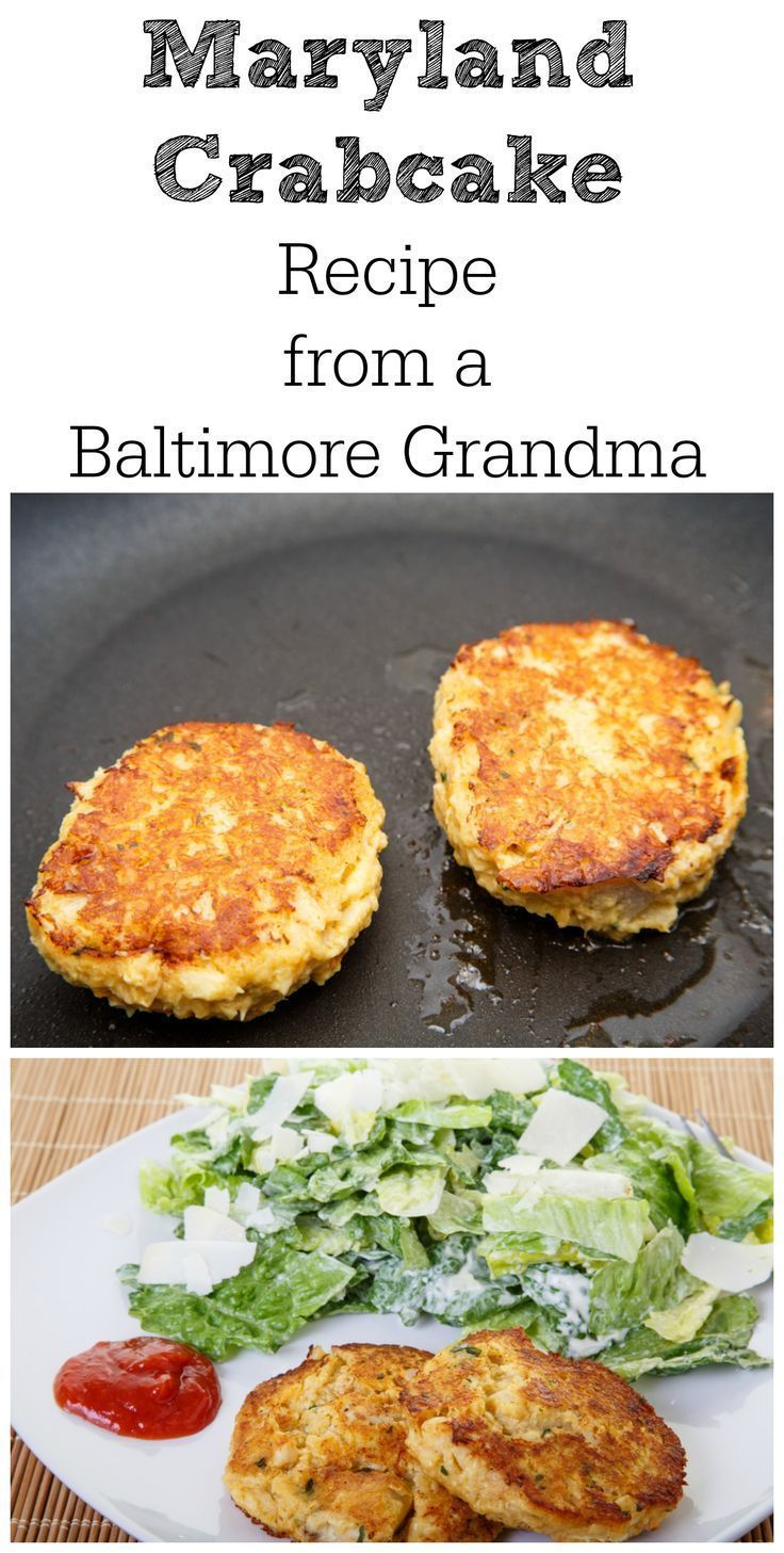 Mommom S Maryland Crab Cake Recipe Seafood Recipes Maryland Crabcake Recipe Fish Recipes