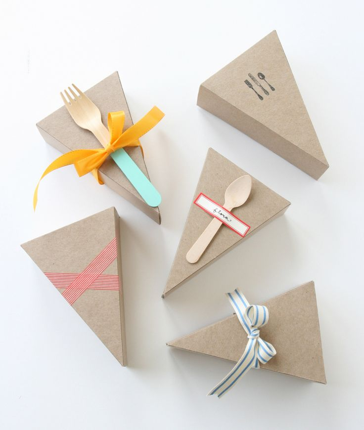 Pie or cake packaging ideas