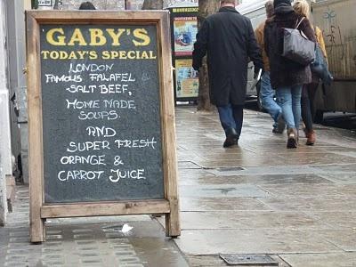 Gaby's Deli, Charing Cross..heaven