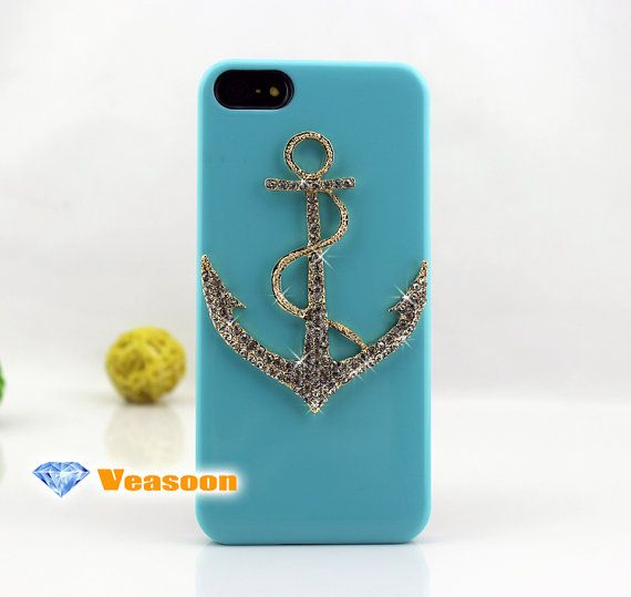 ANCHOR iphone 5 case cute iphone 5 case bling iphone 5 by Veasoon, $14.99