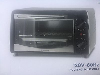 Brand New Stainless Steel Westinghouse Electric 1000 W  Toaster Oven WST3028FP