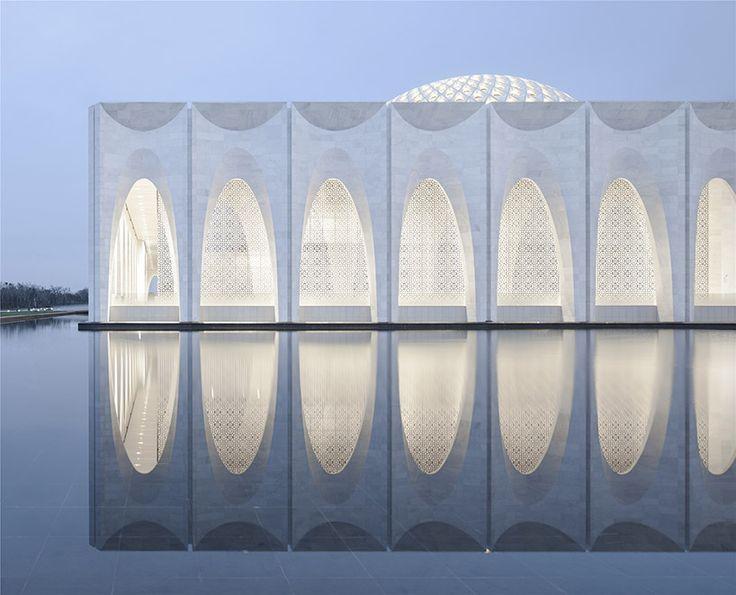 architectural design & research institute of SCUT da chang muslim cultural center china designboom