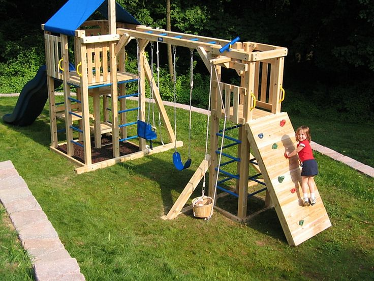 9 best one point perspective images on pinterest one for Creative swing set ideas